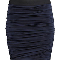 Draped Skirt - from H&M