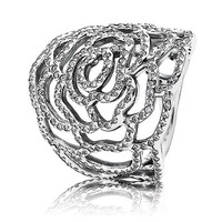 Authentic Pandora Jewelry - Shimmering Rose Ring