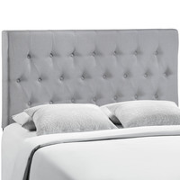 Clique Full Headboard in Gray