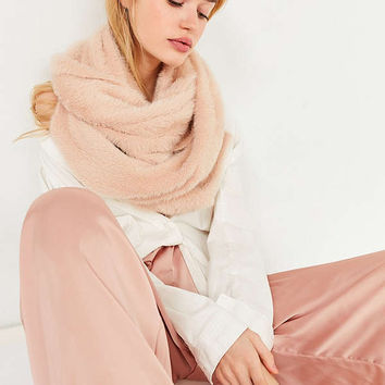 Fuzzy Furry Scarf | Urban Outfitters