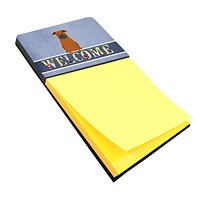 Chinese Chongqing Dog Welcome Sticky Note Holder BB5692SN