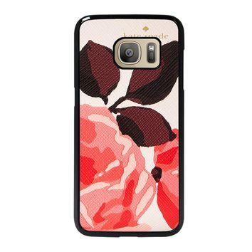 KATE SPADE CAMEROON STREET ROSES 3 Samsung Galaxy S7 Case