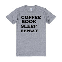 COFFEE BOOK SLEEP REPEAT