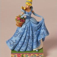 Disney Traditions by Jim Shore Cinderella Spring Figurine, 7-1/4-Inch
