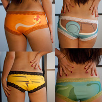 Pokepanties: Boyshorts