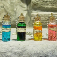 Harry Potter Potion Necklace (Pick A Potion)