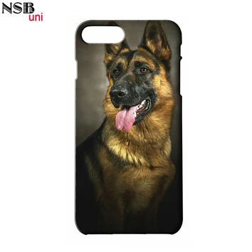 For IPHONE 4 5 5S SE 6 6S 6+7 7+ Cute Pet Dog Designs of Mobile Phone Shell Covers PET109 Brand NSBuni DIY Custom Made Cases