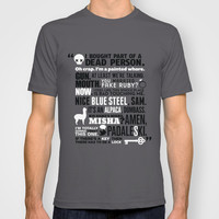 Supernatural - The French Mistake Quotes T-shirt by natabraska