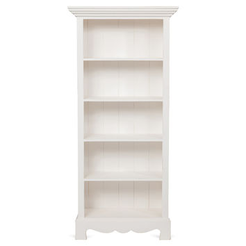 Beach House Bookcase, White, Bookcases & Bookshelves