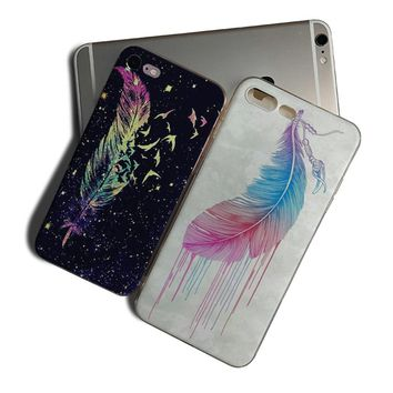 IMIDO Feather Soft Silicone Phone Case