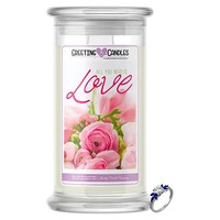 All You Need Is Love | Jewelry Greeting Candles