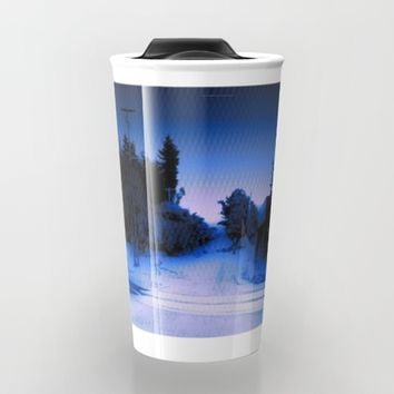 Summer Love Travel Mug by Jessica Ivy