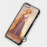 Rapunzel in Painting - iPhone 7+ 7 6 6+ 5c 5s SE Cases & Covers