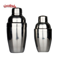 Vovotrade New Stainless Steel Cocktail Shaker Martini Bartender Shaker Drink