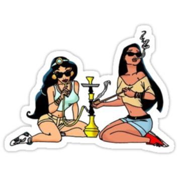 Smoking Princesses
