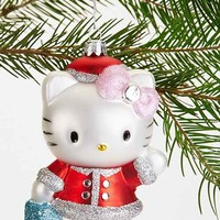 Hello Kitty Santa Ornament