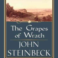The Grapes of Wrath (Thorndike Press Large Print Famous Authors Series)