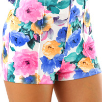Tropical Chances Shorts: Multi