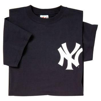 New York Yankees (ADULT 3X) 100% Cotton Crewneck MLB Officially Licensed Majestic Majo