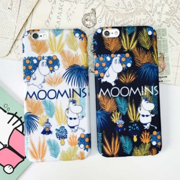 Lovely hippo plastic Case Cover for Apple iPhone 5s 5 6 Plus 6 -05011