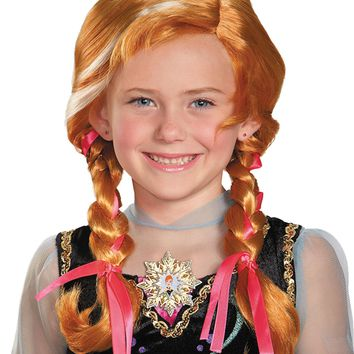 Frozen Anna Child Wig for Halloween