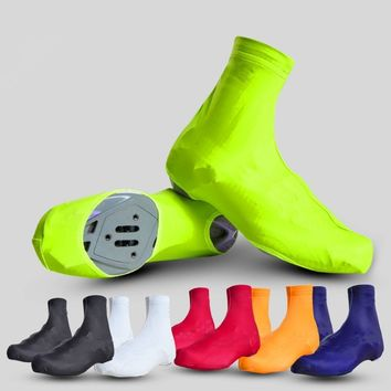 CAMTOA 1 Pair Cycling Shoes Covers Shoe Covers or Lite Overshoes Protect Shoe