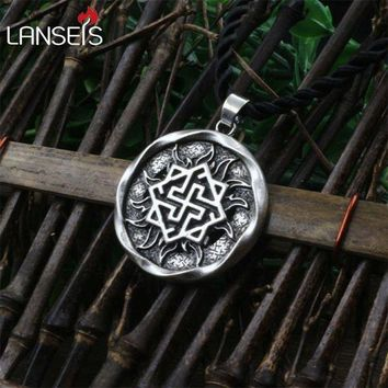 ac PEAPO2Q 1pcs Valkyrie Pendant Jewelry Pagan Amulet Slavic symbol warrior talisman pendant norse Occult  Pendant Germanic men necklace