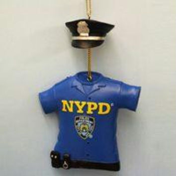 Christmas Ornament - Nypd Officer