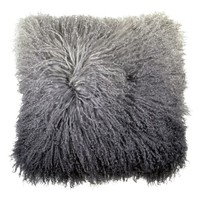 Michael Aram Dip Dye Sheepskin Accent Pillow | Nordstrom