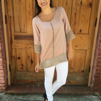 You're making be blush tunic