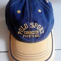 Vintage POLO SPORT By Ralph Lauren Hat Caps , Polo Hat ,