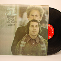 Vinyl Record - Simon and Garfunkel - Bridge Over Troubled Water LP Album 1970 Rock n Roll Folk Rock