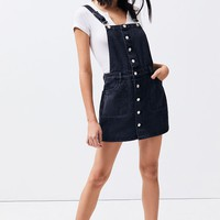 Button Front Denim Dress | PacSun
