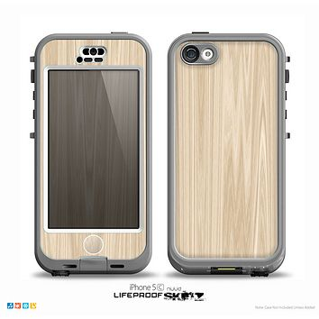 The Natural WoodGrain Skin for the iPhone 5c nüüd LifeProof Case