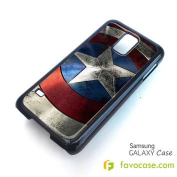 CAPTAIN AMERICA Shield Avengers Marvel Samsung Galaxy S2 S3 S4 S5, Mini, Note, Tab Case Cover