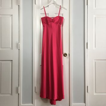 Calvin Klein women's fuchsia evening gown sz 4