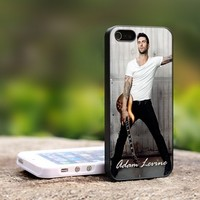Adam Levine Maroon five Rock Band - For iPhone 5 Black Case Cover