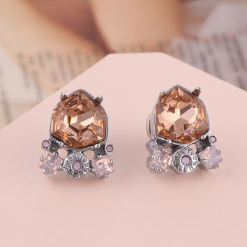 Accessory Crystal Earring Jewelry [6573078791]