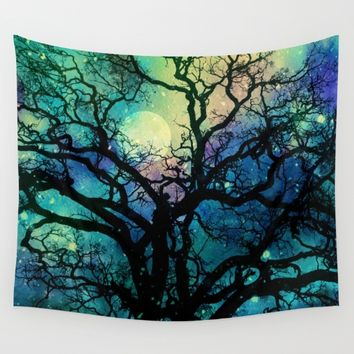 Maybe Just Dreaming Wall Tapestry by Klara Acel