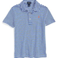 Boy's Ralph Lauren Stripe Cotton Polo,