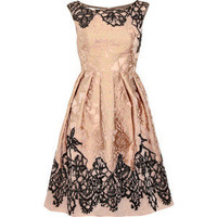 Valentino Jacquard-finish organza dress - Polyvore
