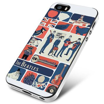 The Beatles Collage iPhone 5   5S   5SE Case Planetscase.com