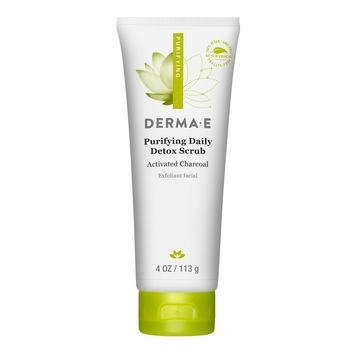 Derma E Scrub - Purifying Daily Detox - 4 Oz