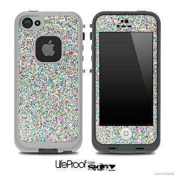 Colorful Small Sprinkles Skin for the iPhone 5 or 4/4s LifeProof Case