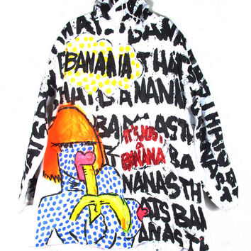 "THESEPINKLIPS ""Banana"" Coat 