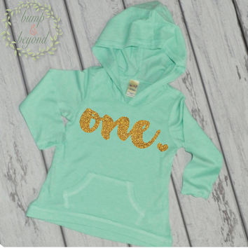 1st Birthday Girl Outfit First Birthday Shirt 1 Year Old Birthday Shirt Girl One Year Old Birthday Girl Hoodie 1st Birthday Shirt 102
