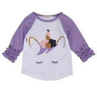 Eyelash Unicorn Top