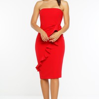 Amoura Dress - Red