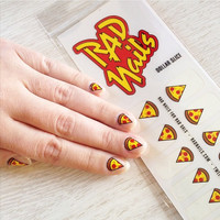 Dollar Slice Nail Decals