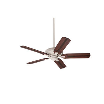 Emerson Fans BKIT-CF787AW-B105HCB Carrera Grande Summer White 54-Inch Ceiling Fan with Beaded Hand Carved Wood Blades